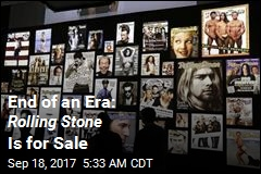 End of an Era: Rolling Stone Is for Sale