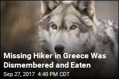 British Hiker Believed Ripped Apart by Wolves in Greece