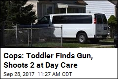 Cops: Toddler Finds Gun, Shoots 2 at Day Care