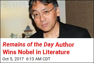 Remains of the Day Author Wins Nobel in Literature