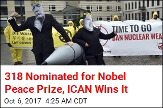 Anti-Nuclear Weapons Group Wins Nobel Peace Prize