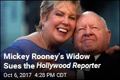 Mickey Rooney's Widow Sues Magazine for Elder Abuse
