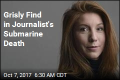 Divers Find Body Parts of Missing Journalist