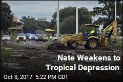 Nate Weakens to Tropical Depression