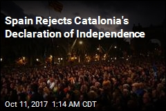 Spain Rejects Catalonia's Declaration of Independence