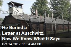 We Now Know What Letter Buried at Auschwitz Says