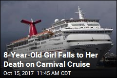 8-Year-Old Girl Falls to Her Death on Carnival Cruise