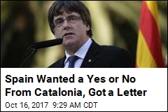 Monday Deadline Comes, Goes With No Catalonia Answer