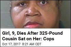 Cops: 325-Pound Woman Sat on Kid as Punishment, Fatally
