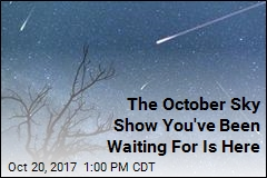 Orionid Meteor Shower Is on Friday Night