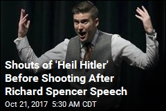 Shouts of 'Heil Hitler' Before Shooting After Richard Spencer Speech