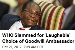 WHO Appoints Robert Mugabe as Goodwill Ambassador