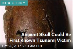 Ancient Skull Could Be First Known Tsunami Victim