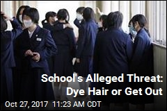 School's Alleged Threat: Dye Hair or Get Out