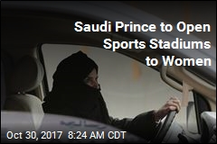 Next Frontier for Saudi Women: Sports Stadiums