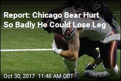 Report: Chicago Bear Hurt So Badly He Could Lose Leg