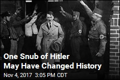 One Snub of Hitler May Have Changed History