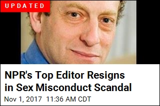NPR's Top Editor Accused of Sexual Misconduct