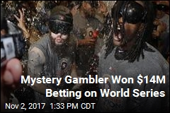 Mystery Gambler Won $14M Betting on World Series