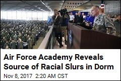 Air Force Academy: Student Wrote Slur Outside Own Room