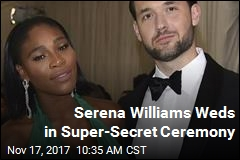 Serena Williams, Alexis Ohanian Wed