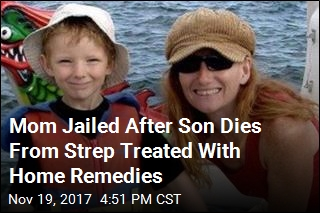 Mom Gets 3 Years in Prison After Son Dies From Strep