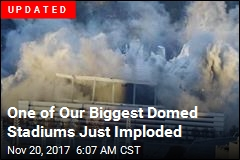 Georgia Dome Set for Implosion Early Monday