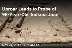 Uproar Leads to Probe of 95-Year-Old 'Indiana Joan'