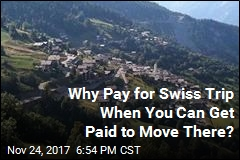 Swiss Village May Pay You Over $25K to Move There