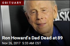 Ron Howard's Dad Dead at 89