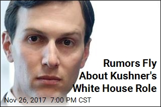 Rumors Fly About Kushner's White House Role