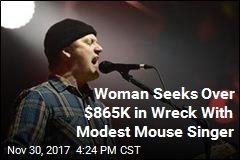 Modest Mouse Singer Sued Over Traffic Wreck