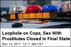Michigan Bans Cops From Sex With Prostitutes