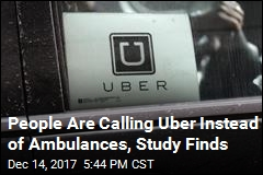 Study Finds Uber Is Cutting Into Ambulance Usage