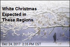 White Christmas Expected in These Regions