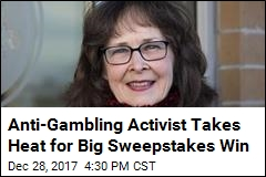 She's Railed Against Gambling for Years. She Just Won $25K