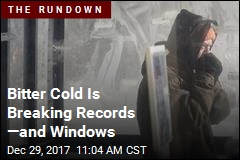 Bitter Cold Is Breaking Records —and Windows