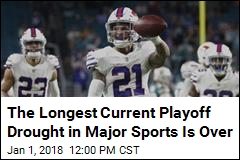 The Longest Current Playoff Drought in Major Sports Is Over