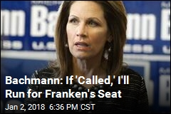 Michele Bachmann May Run for Franken's Seat