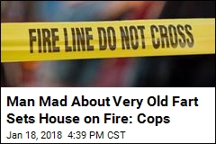 House Fire Indirectly Caused by Fart: Cops