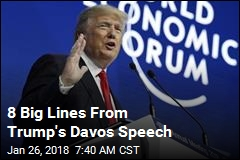 8 Big Lines From Trump's Davos Speech