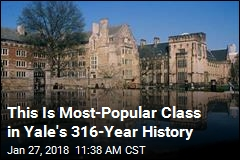 This Is Most-Popular Class in Yale's 316-Year History