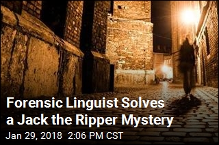 Forensic Linguist Solves a Jack the Ripper Mystery