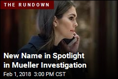 New Name in Spotlight in Mueller Investigation