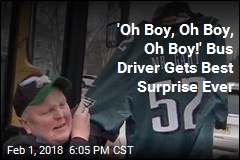 Bus Driver Who Loves the Eagles Gets Best Surprise Ever