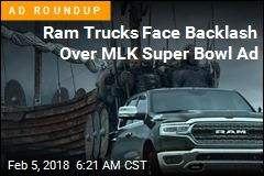 Ram Faces Backlash After MLK Super Bowl Ad