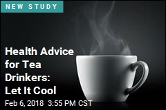 Hot Tea May Raise Cancer Risk for Some