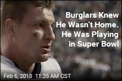 Burglars Knew He Wasn't Home. He Was Playing in Super Bowl