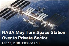Space Station's Next Phase: a Commercial Venture?
