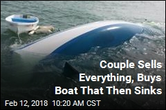 Couple Sells Everything, Buys Boat That Then Sinks